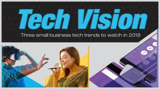 3 Big Small Business Tech Trends to Watch in 2018 (INFOGRAPHIC)
