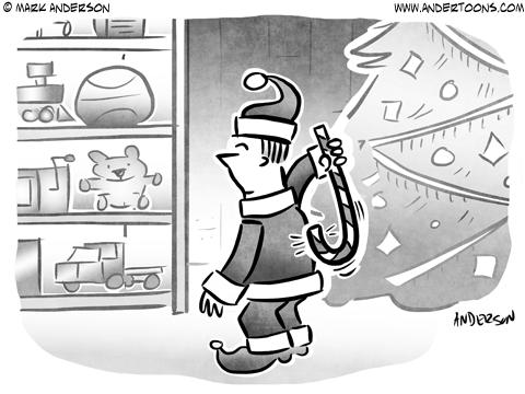 Happy Holidays Business Cartoon