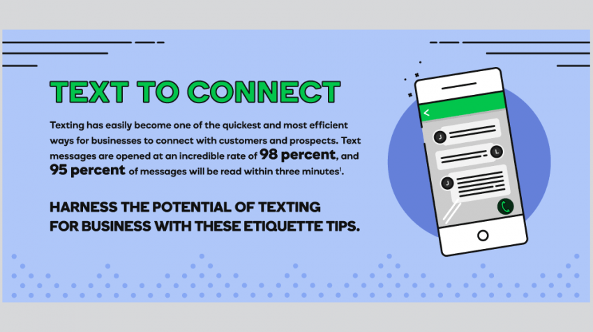 4 Text Message Etiquette Rules for Small Business Owners (INFOGRAPHIC)