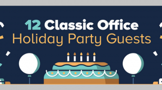 Types of People at the Office Holiday Party (INFOGRAPHIC)