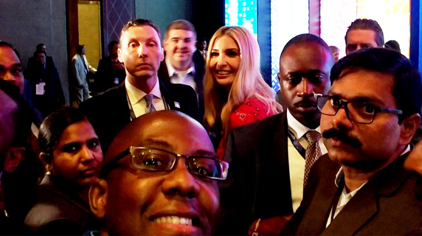 Why Ivanka Trump Took A Selfie with Ramon Ray -- Plus His 8 Power Networking Tips