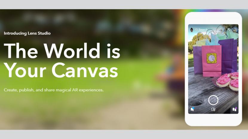 Snapchat Lens Studio Lets You Build AR Lenses for Free