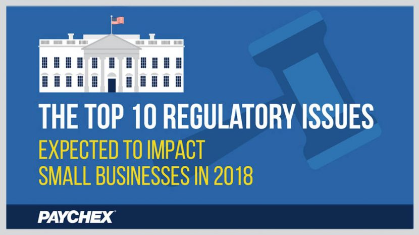 10 Top 2018 Small Business Regulatory Issues