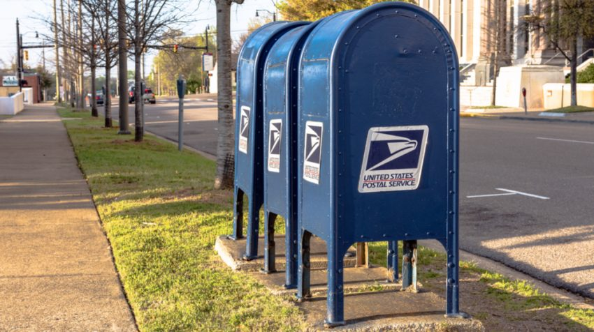 Image result for usps mailbox