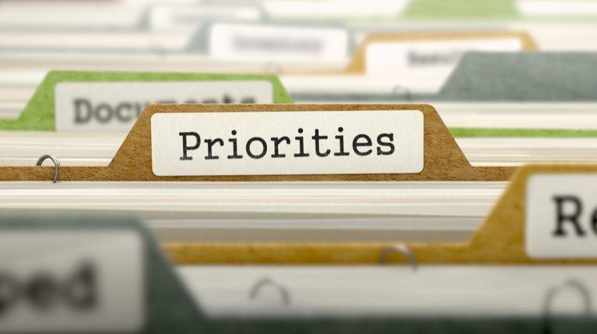 2018 marketing priorities