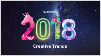 Fantasy, Space and New Minimalism Set to Influence Image Design Trends For 2018