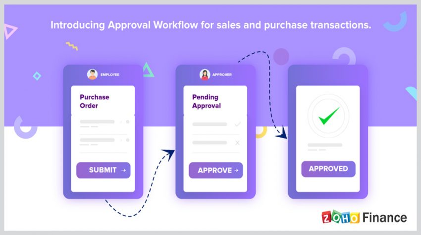 Zoho Transactions Approval Workflow Aims to Reduce Mistakes in Purchase Orders