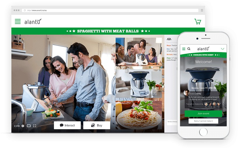 Spotlight: vVents Livestreaming Ecommerce Platform Combines Live Video with Transactions