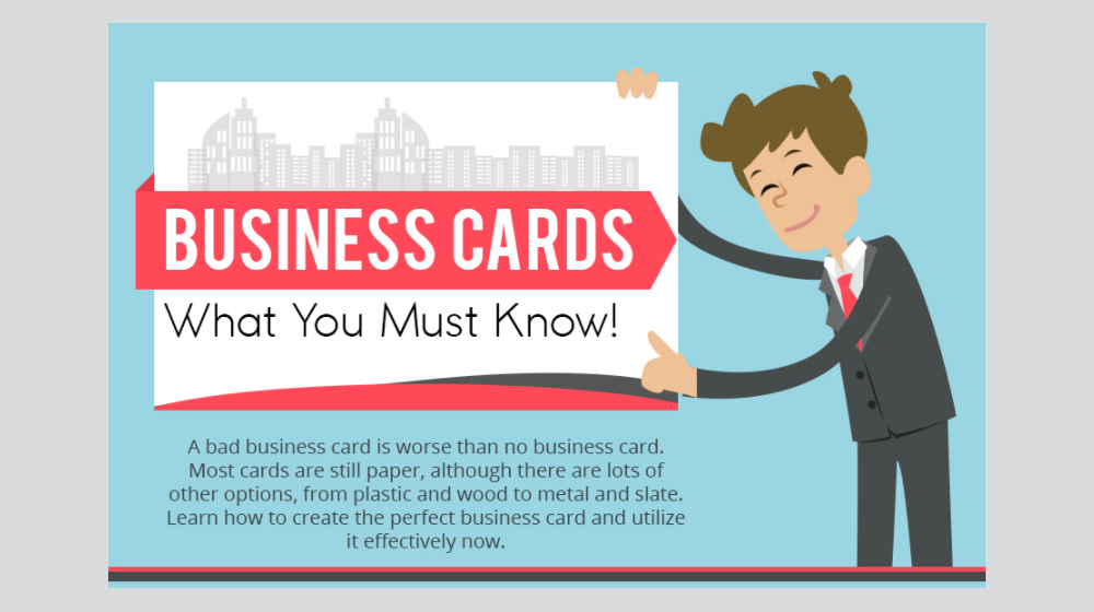 Business Card Facts: What You Need to Know (INFOGRAPHIC)