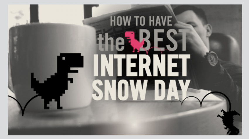 Things to Do When the Internet is Down (INFOGRAPHIC)