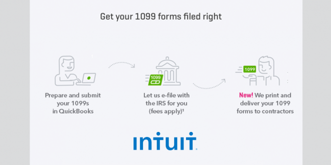 Intuit Tool Helps Freelancers And Contractors File 1099 Forms