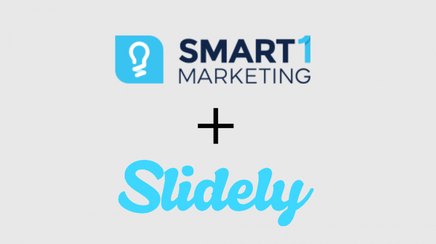 Smart1 and Slidely Partnership to Help Small Businesses with Video Marketing