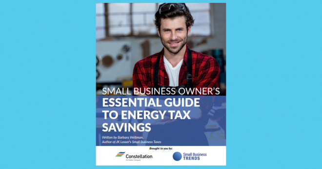 Energy Tax Savings Free Ebook