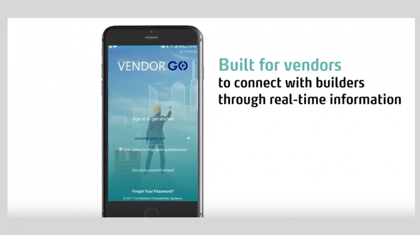 Vendor App from Constellation HomeBuilder Systems Handles Contractor and Vendor Communications