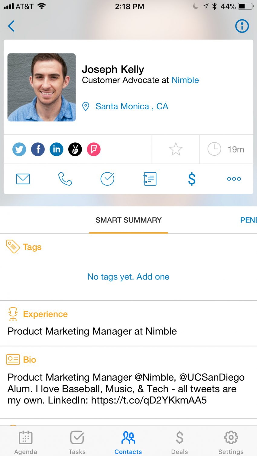 Nimble Mobile 3.0 Designed for Teams on the Go