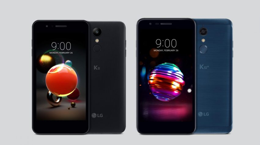 LG Set to Introduce 2018 K8 and K10 Budget Friendly Smartphones with Premium Features