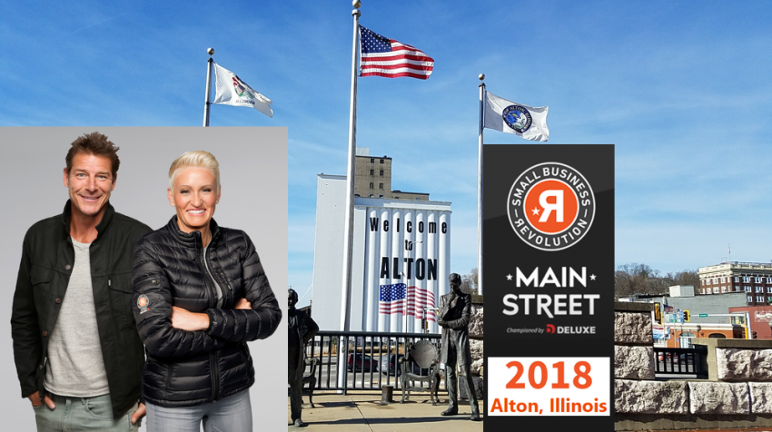 2ea83dc64b1 City Selected for Third Season Of Small Business Revolution-Main Street is  Alton Illinois