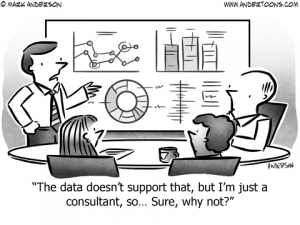 Consultant Business Cartoon