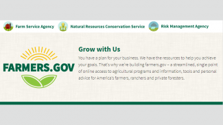 New USDA Website for Farmers, Farmers.gov, Designed to Give Producers Simpler and Quicker Access to Agency