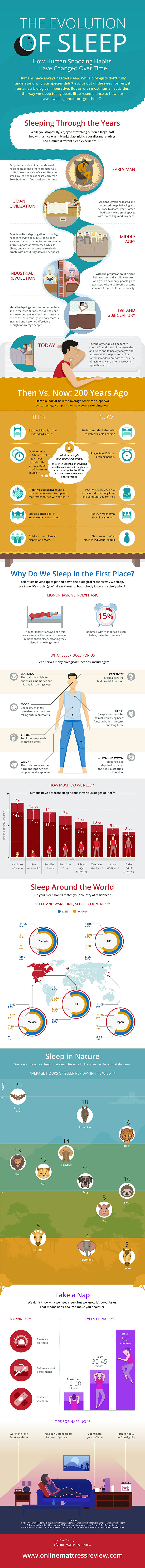 The History of Sleep and How It Impacts Your Day (INFOGRAPHIC)
