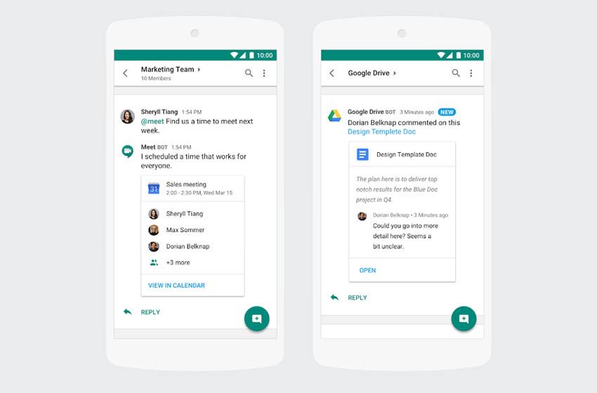 Google Hangouts Chat is Out of Beta - Now Standard with G Suite