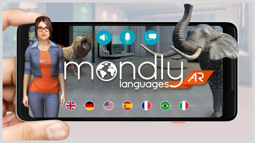 New Mondly App Augmented Reality Functionality Makes it Easier to Learn Languages