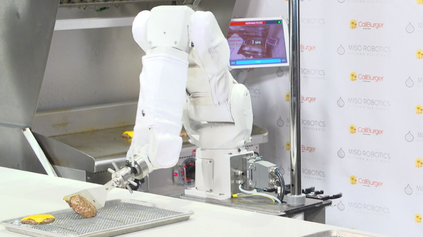 Flippy the Robot Burger Flipper Makes Its Debut in California