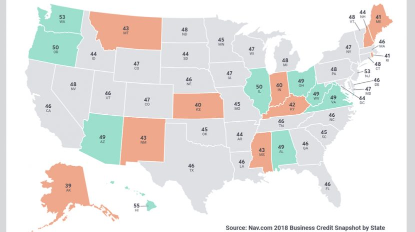 2018 Business Credit Snapshot by State