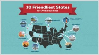 best states for online businesses