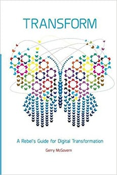 Transform - A Rebel's Guide for Digital Transformation