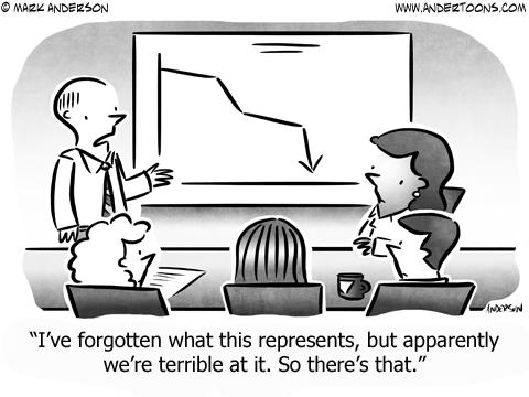 Night Time Business Cartoon
