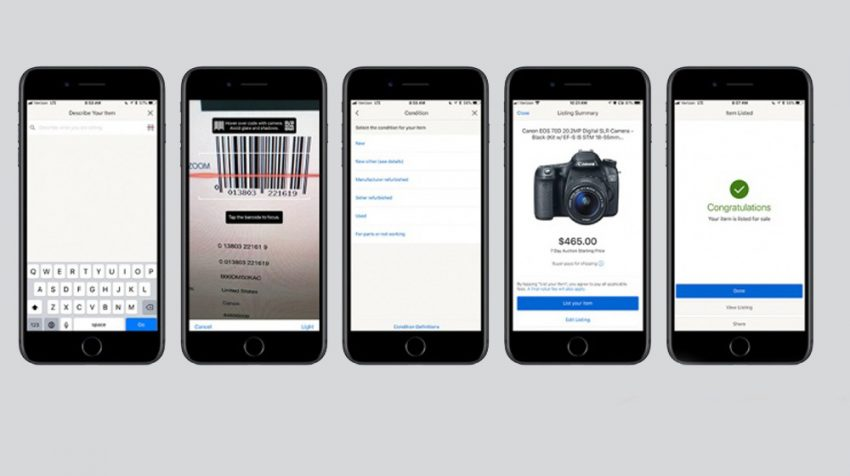 eBay App Update: List Your Items for Sale in Under One Minute