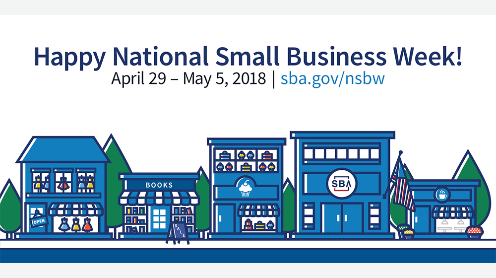 The Really Big List of National Small Business Week 2018 Events, Promotions, Deals, and More