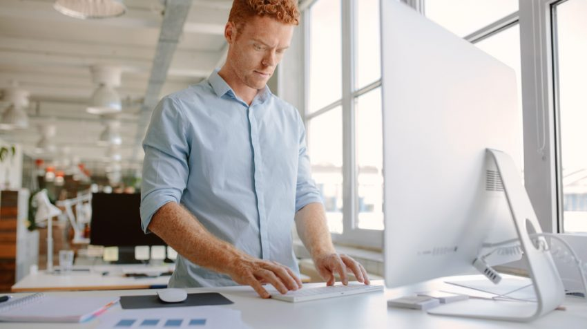 Standing While Working Helps Back Pain