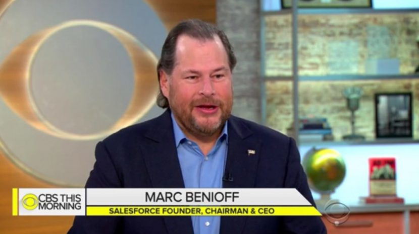 Salesforce CEO Marc Benioff Advocates for National Privacy Laws to Protect Personal Data