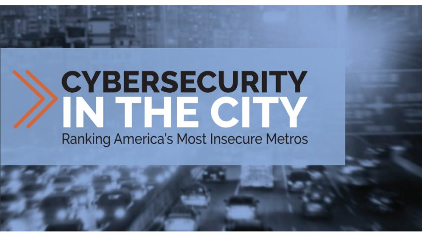 New Report Names the Least Cyber Secure Cities in America