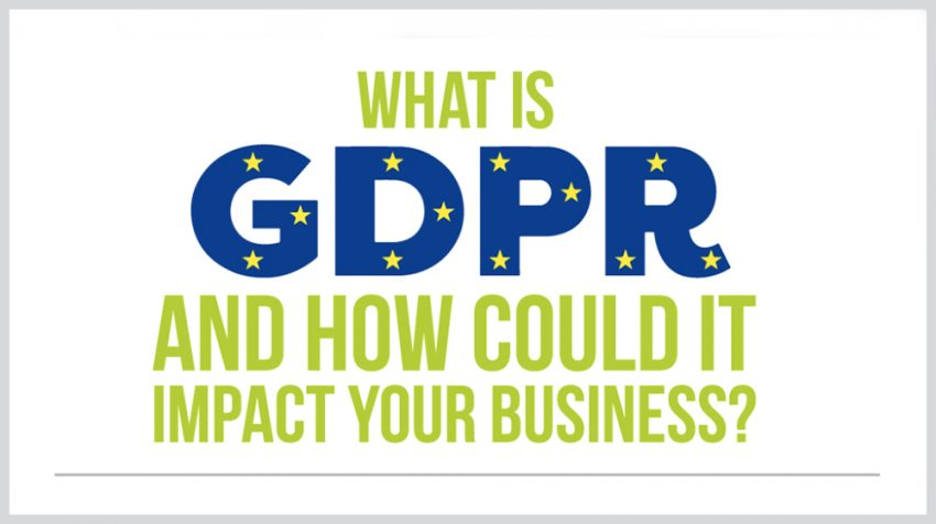 GDPR Overview: What Your Small Business Needs to Know in One Handy Infographic