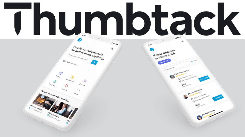New Thumbtack Instant Results Feature Matches Customers with Service Pros Fast