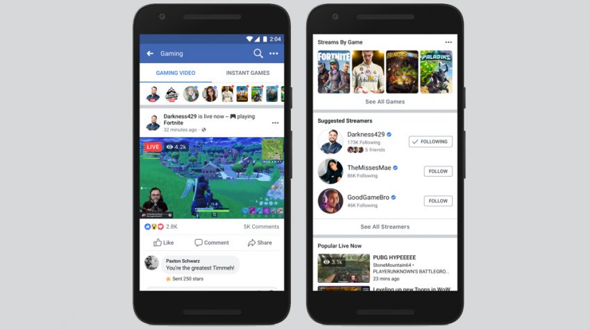 Facebook Level Up Program for Gaming Creators Launched