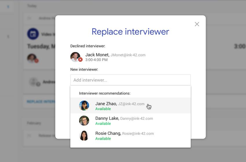 Google Hire AI Update Announced