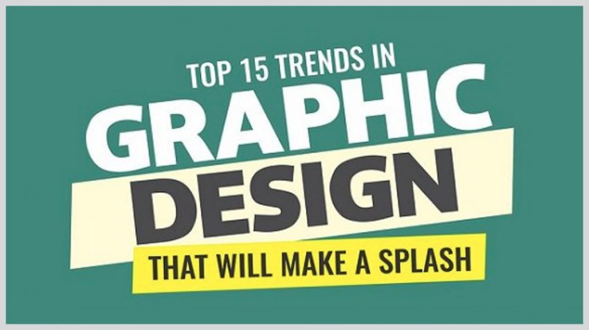 The Big Trends in Graphic Design Right Now (INFOGRAPHIC)
