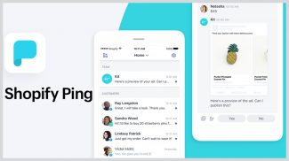 Shopify Ping Brings Your Work Together in a Mobile App