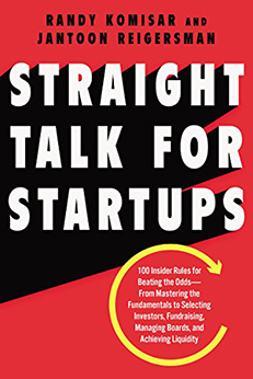 Straight Talk for Startups is a Primer for Every Entrepreneur