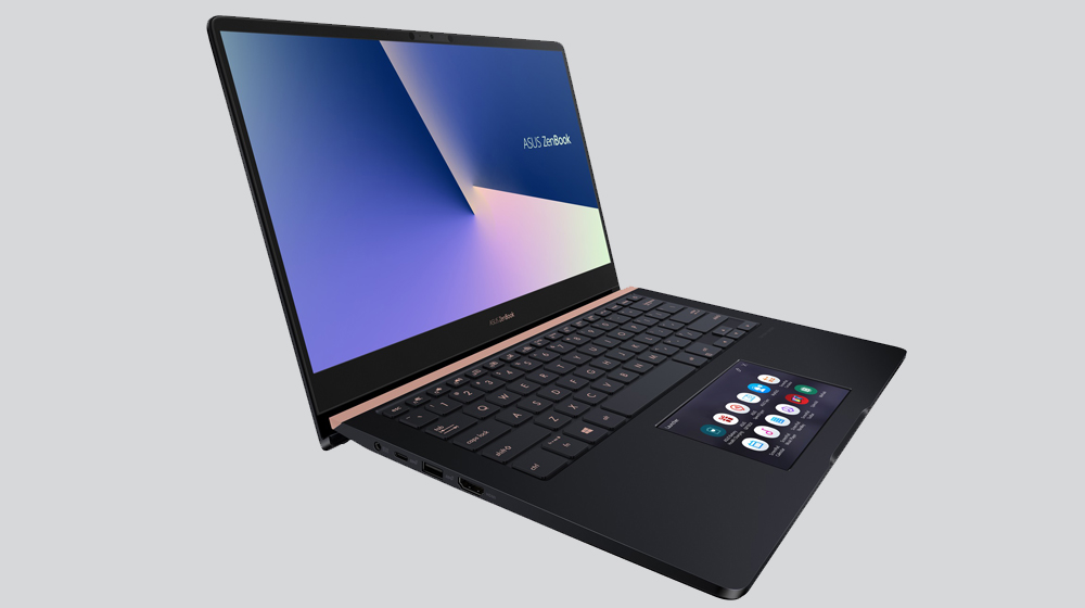 2018 ZenBook Pro Series: ASUS Introduces New ScreenPad and Other Windows 10 Devices