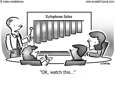 Music Business Cartoon