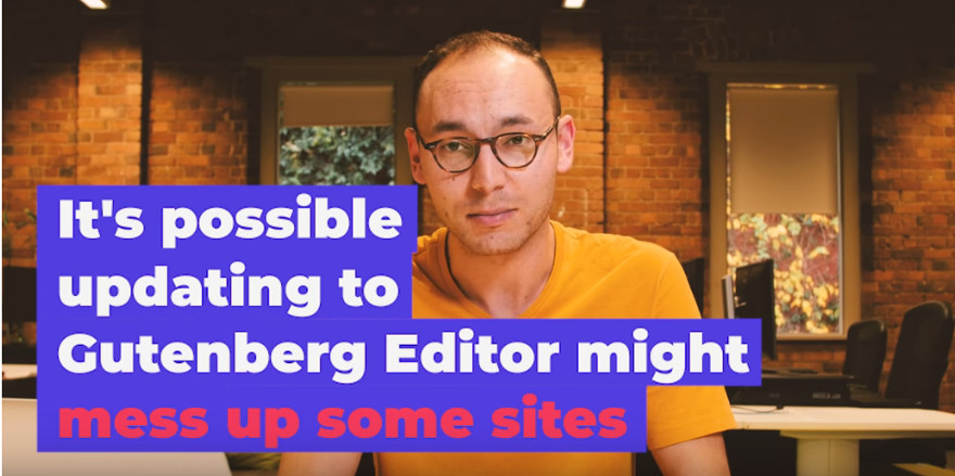 WordPress Gutenberg Editor Might Mess Up Some Sites