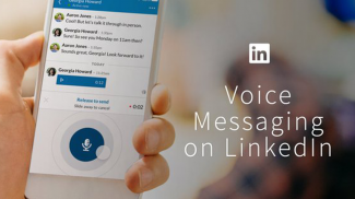 Old School is New -- LinkedIn Voice Messaging Feature Added