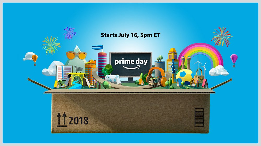 Amazon Prime Day 2018 Starts July 16