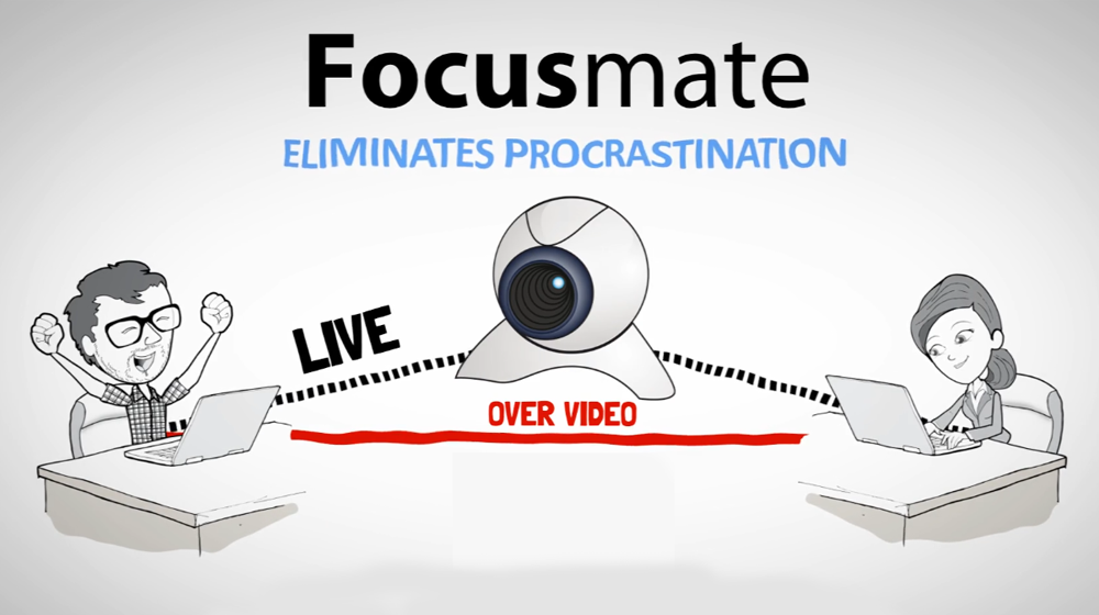 Focusmate Provides an On-Demand Accountability Partner