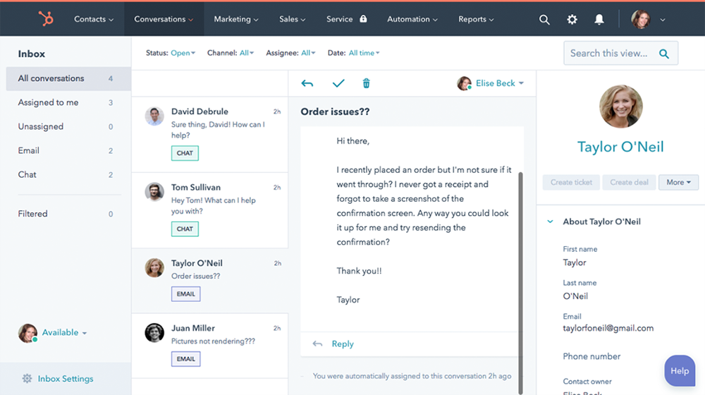 HubSpot Conversations Delivers a Unified Inbox for Small Businesses